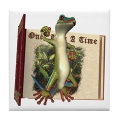Mr. Gecko Tile Coaster
