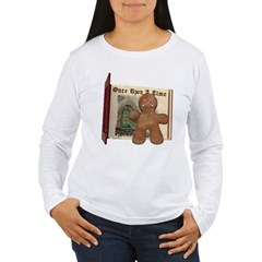 The Gingerbread Man Women's Long Sleeve T-Shirt