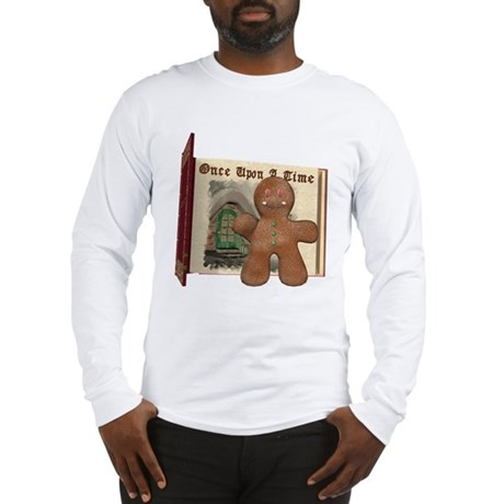 The Gingerbread Man Long Sleeve T-Shirt