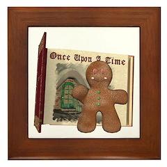 The Gingerbread Man Framed Tile