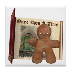 The Gingerbread Man Tile Coaster