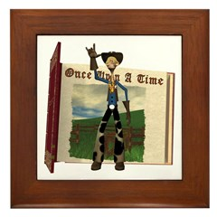 Hay Billy Framed Tile