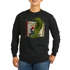 Jack 'N the Beanstalk Long Sleeve Dark T-Shirt