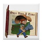Cowboy Kevin Tile Coaster