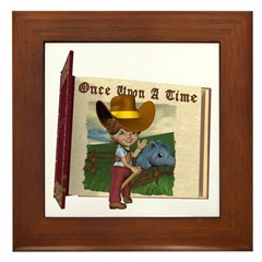 Cowgirl Kit Framed Tile