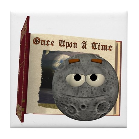The Man in the Moon Tile Coaster