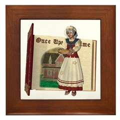 Mother Goose Framed Tile