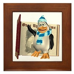 Percy Penguin Framed Tile