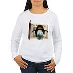 Pongo Penguin Women's Long Sleeve T-Shirt