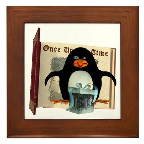 Pongo Penguin Framed Tile