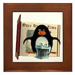 Pongo Penguin Framed Tile