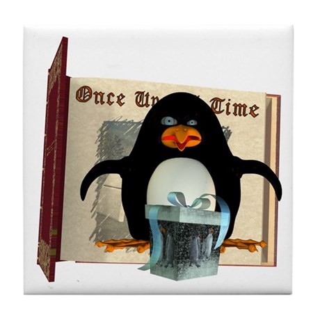 Pongo Penguin Tile Coaster