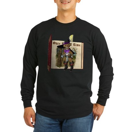 Puss 'N Boots Long Sleeve Dark T-Shirt