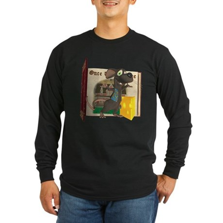 Rattachewie Long Sleeve Dark T-Shirt