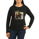 Sal A. Manda Women's Long Sleeve Dark T-Shirt