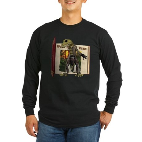 Sal A. Manda Long Sleeve Dark T-Shirt