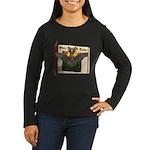 Bennie Bat Women's Long Sleeve Dark T-Shirt