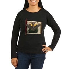 Bennie Bat Women's Long Sleeve Dark T-Shirt