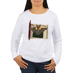 Bennie Bat Women's Long Sleeve T-Shirt