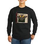 Bennie Bat Long Sleeve Dark T-Shirt