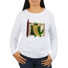 Crawley Croc Women's Long Sleeve T-Shirt