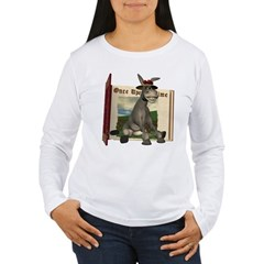 Daisy Donkey Women's Long Sleeve T-Shirt