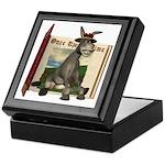 Daisy Donkey Keepsake Box