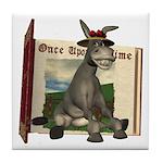 Daisy Donkey Tile Coaster