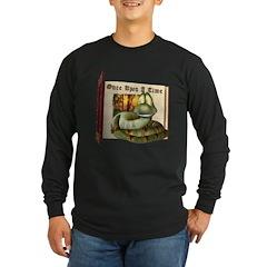 Asp N. Snake Long Sleeve Dark T-Shirt