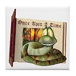 Asp N. Snake Tile Coaster