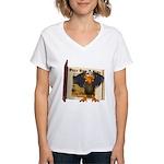 Vinnie Vulture Women's V-Neck T-Shirt