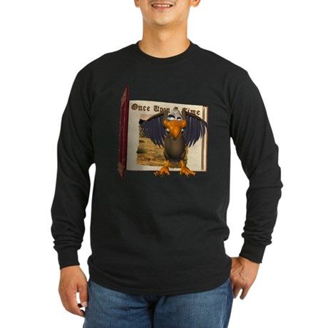 Vinnie Vulture Long Sleeve Dark T-Shirt