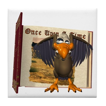 Vinnie Vulture Tile Coaster