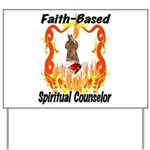 Faith Based Counselor Yard Sign