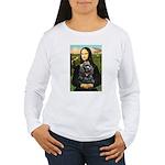 Mona's Black Cocker Spaniel Women's Long Sleeve T-