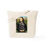 Mona's Black Cocker Spaniel Tote Bag