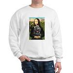 Mona's Black Cocker Spaniel Sweatshirt