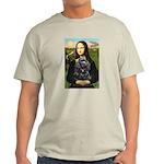 Mona's Black Cocker Spaniel Light T-Shirt