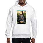 Mona's Black Cocker Spaniel Hooded Sweatshirt