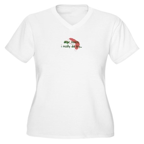 I did try Women's Plus Size V-Neck T-Shirt
