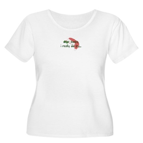 I did try Women's Plus Size Scoop Neck T-Shirt