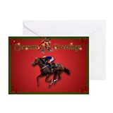 """Race Horse"" Xmas Cards (Pk of 10)"