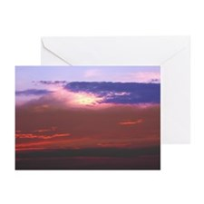 "Cozumel ""Tequila Sunset"" Greeting Cards (Pk of 20)"