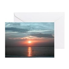 "Cozumel ""Adios Sol"" Greeting Cards (Pk of 20)"