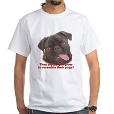 Pugs resemble owners - Black Shirt