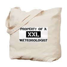 Property of: Meteorologist Tote Bag