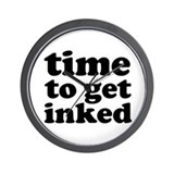 Get Inked Designer Wall Clock (BESTSELLER!!)