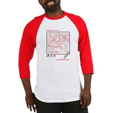 Weim Word Search Baseball Jersey