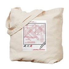 Weim Word Search Tote Bag