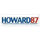 HOWARD87 Bumper Bumper Stickers